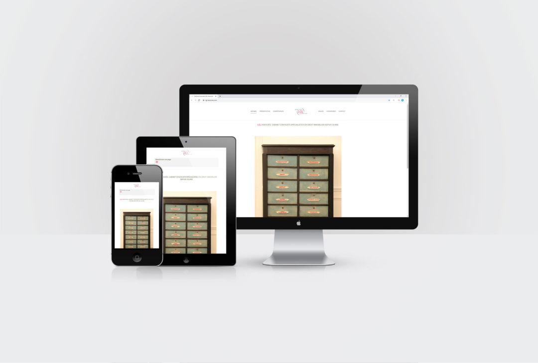 LGL Associés Avocats création et maintenance du site internet