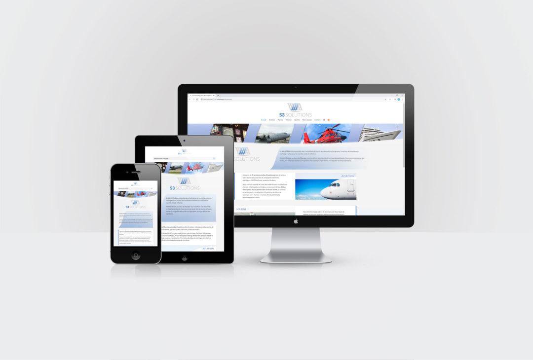 S3 Solutions Création site internet et formation