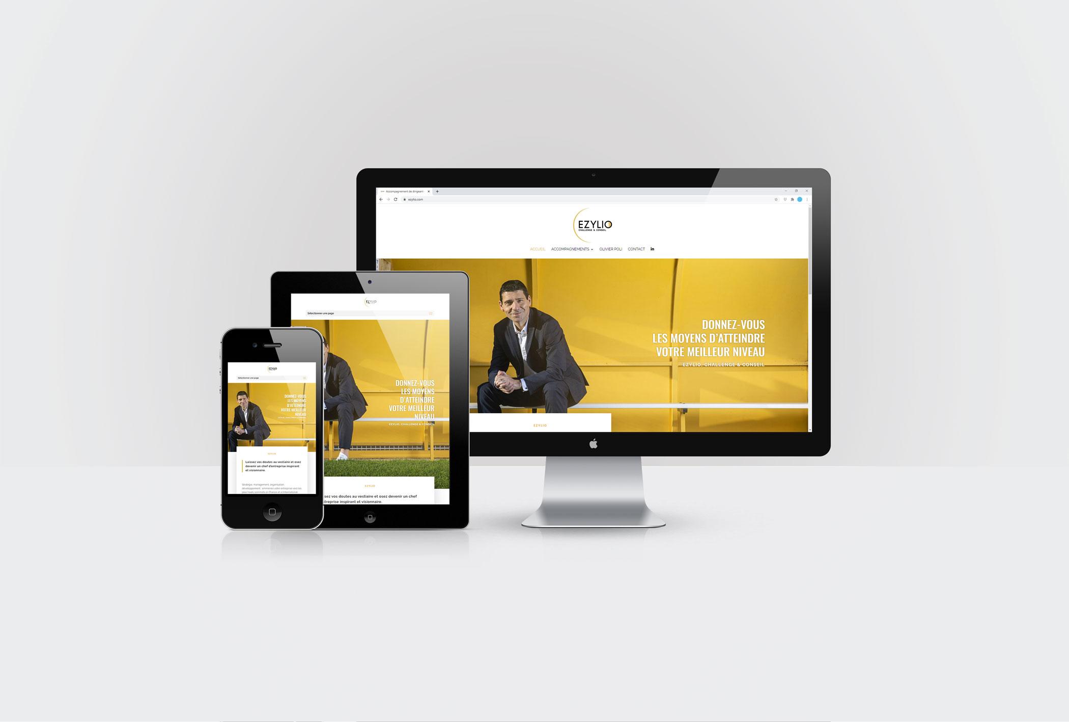 Création d'un site internet pour EZYLIO à Saint-Malo