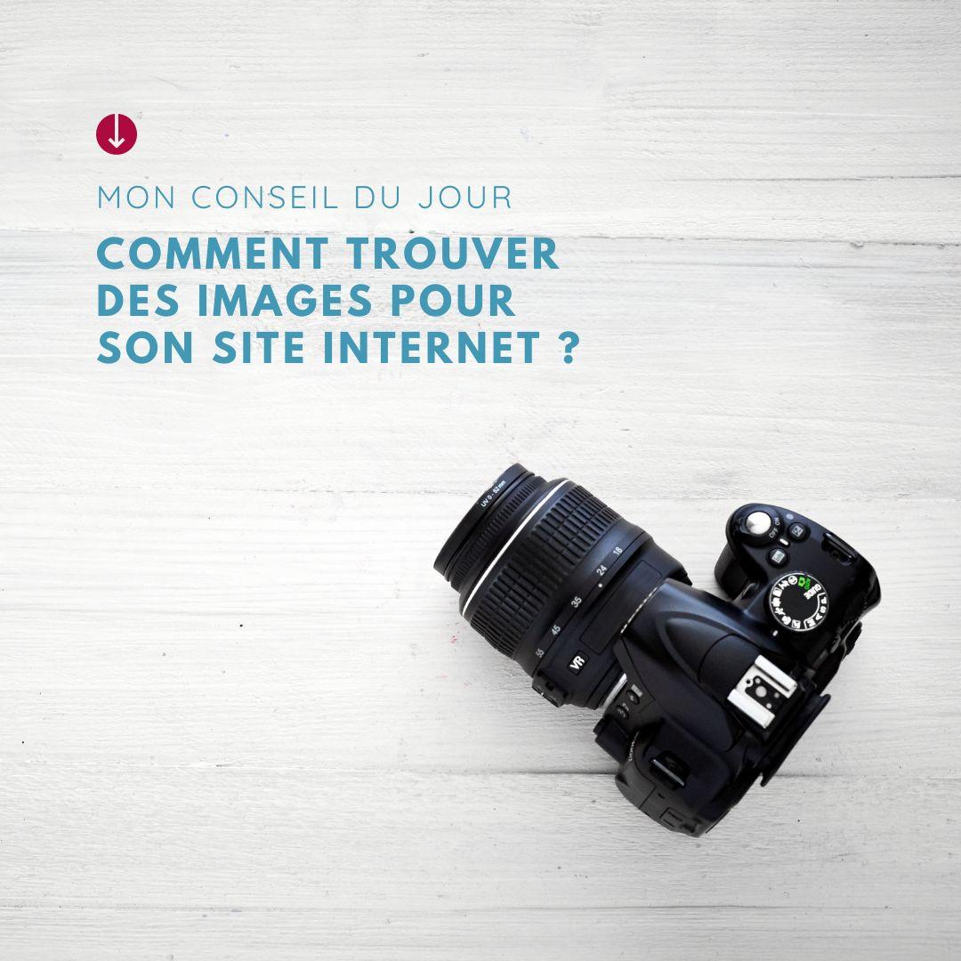 Comment trouver des images pour illustrer son site internet ?
