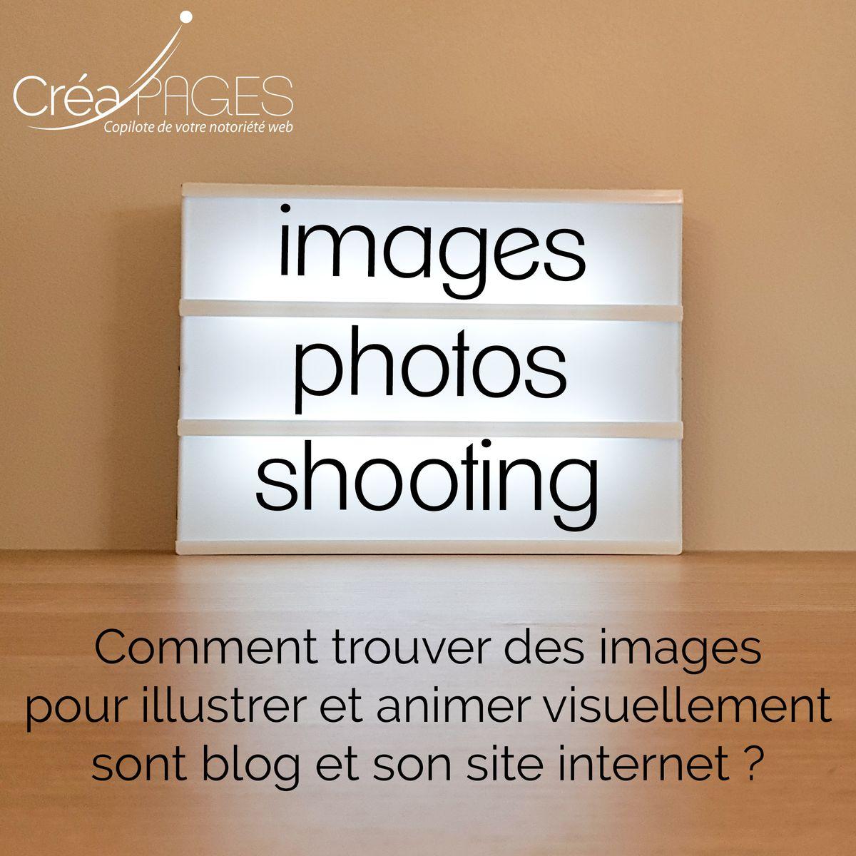 Comment trouver des images pour illustrer son site internet