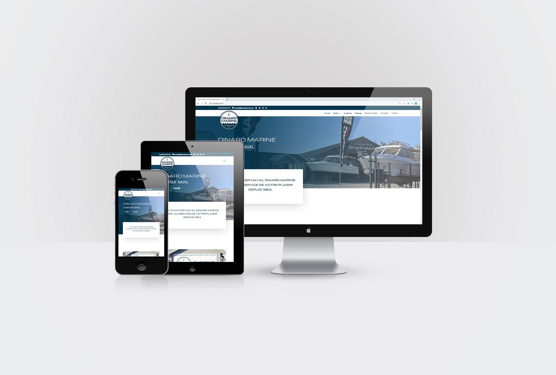 Formation animer son site internet WordPress avec DIVI pour DINARD MARINE par CréaPAGES