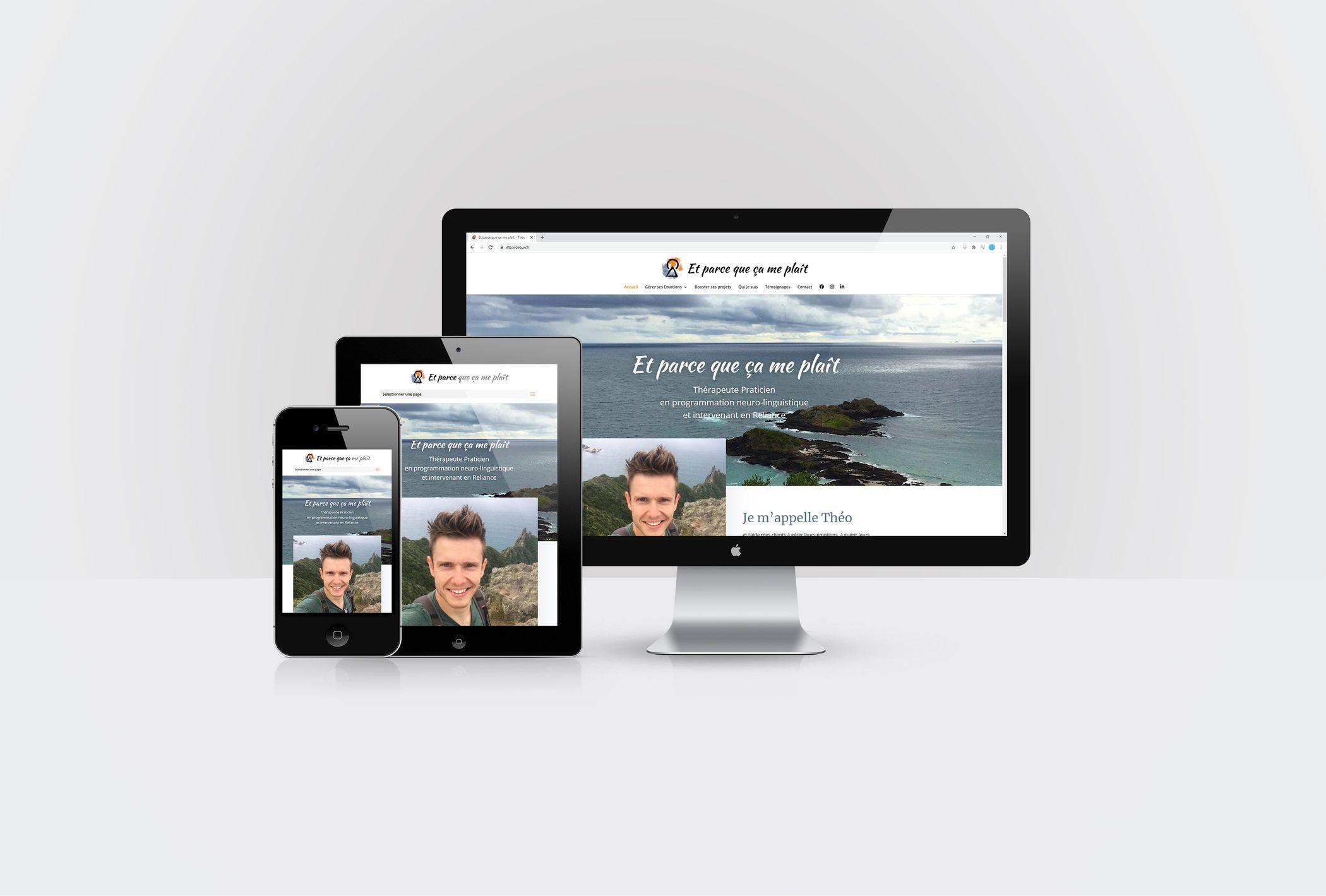 Formation animer son site internet WordPress avec DIVI pour Et Parce que ça me plaît par CréaPAGES