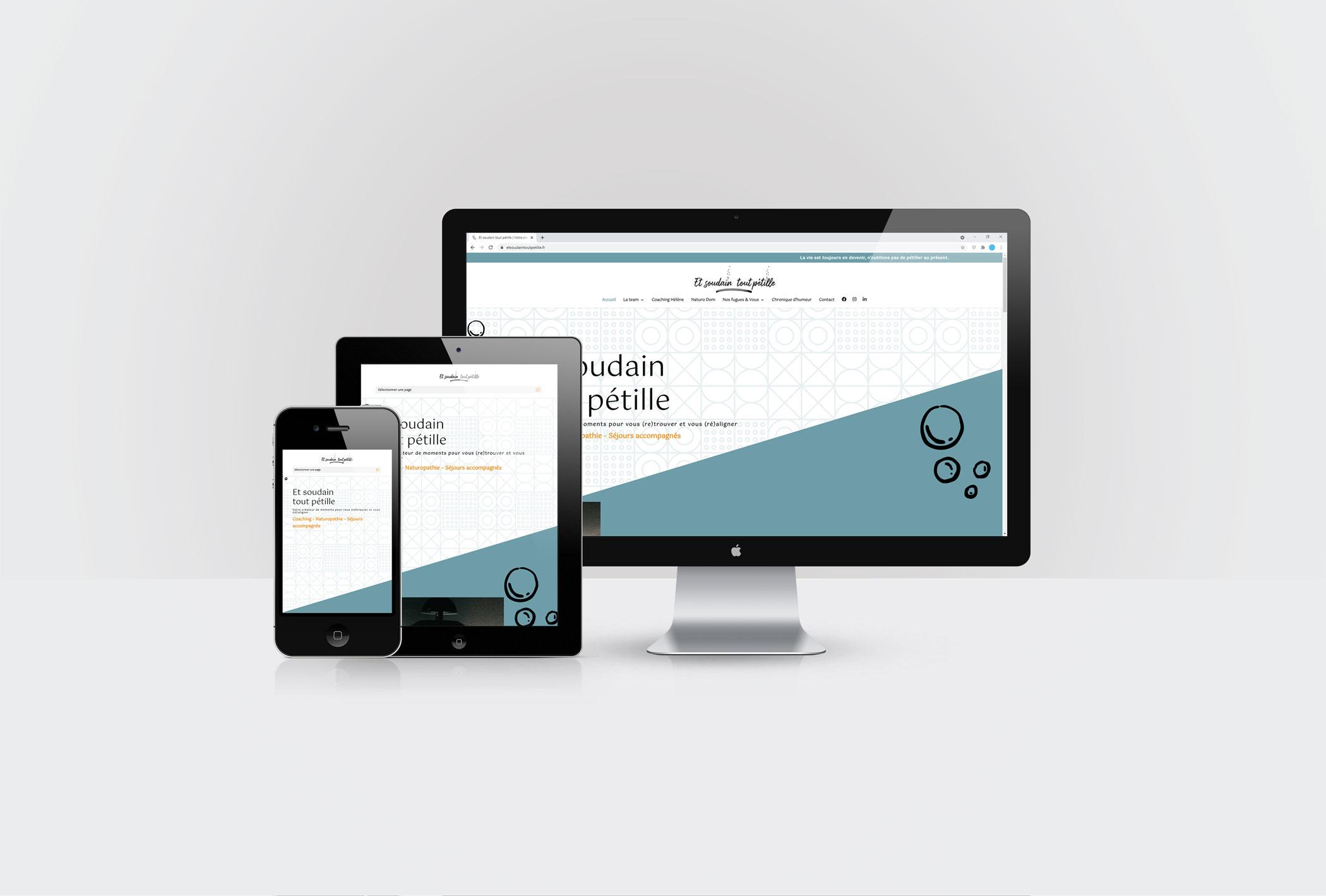 Formation animer son site internet WordPress avec DIVI pour Et soudain tout pétille par CréaPAGES